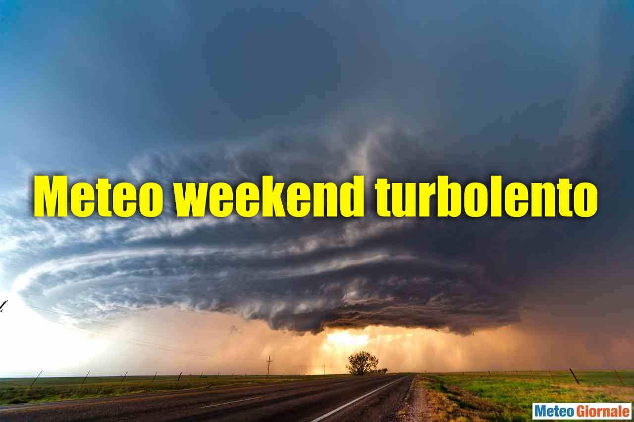 meteo weekend - METEO WEEKEND, Estate ribaltata dall'Atlantico