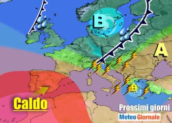 meteogiornale 7 g 4 350x250 - Sconquasso meteo imponente: POTENTI TEMPORALI scalzeranno la bolla africana