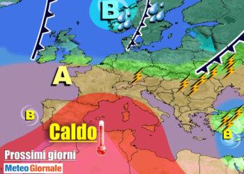 meteogiornale 7 g 6 350x250 - Sconquasso meteo imponente: POTENTI TEMPORALI scalzeranno la bolla africana