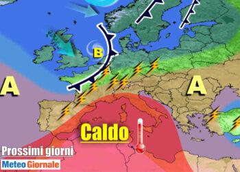 meteogiornale 7 g 7 350x250 - Sconquasso meteo imponente: POTENTI TEMPORALI scalzeranno la bolla africana