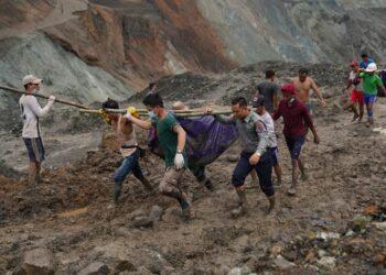 myanmar 350x250 - FRANA in una miniera del Myanmar, il video in diretta è impressionante