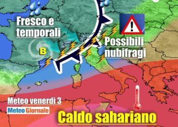 ok 350x250 - Sconquasso meteo imponente: POTENTI TEMPORALI scalzeranno la bolla africana