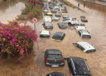 palermo alluvione 350x250 - METEO sino 10 Luglio:  Temporali Sud, poi torna il CALDO Anticiclone d'Africa
