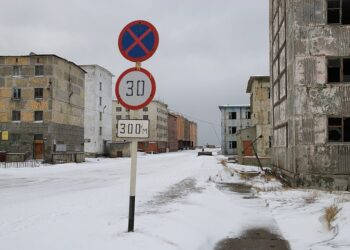 1024px Pevek 1 350x250 - Meteo d'Estate sotto la neve sulle coste della Siberia