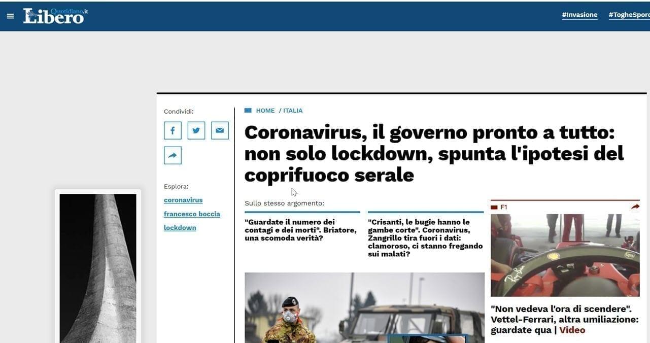 2020 08 15 19 44 59 - Covid 19 Italia: lockdown e ipotesi del coprifuoco serale: Facciamo chiarezza