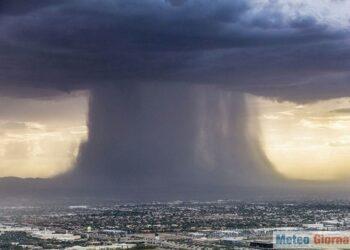 aterradora foto de una tormenta de arena 350x250 - Meteo devastante su Verona, succederà anche altrove