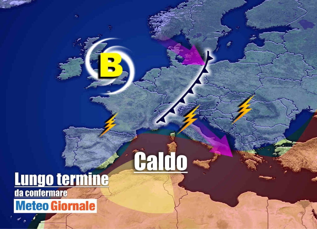 meteo 17 agosto 1024x739 - Meteo Italia a due settimane: FERRAGOSTO caldo, poi TEMPORALI e ancora ESTATE