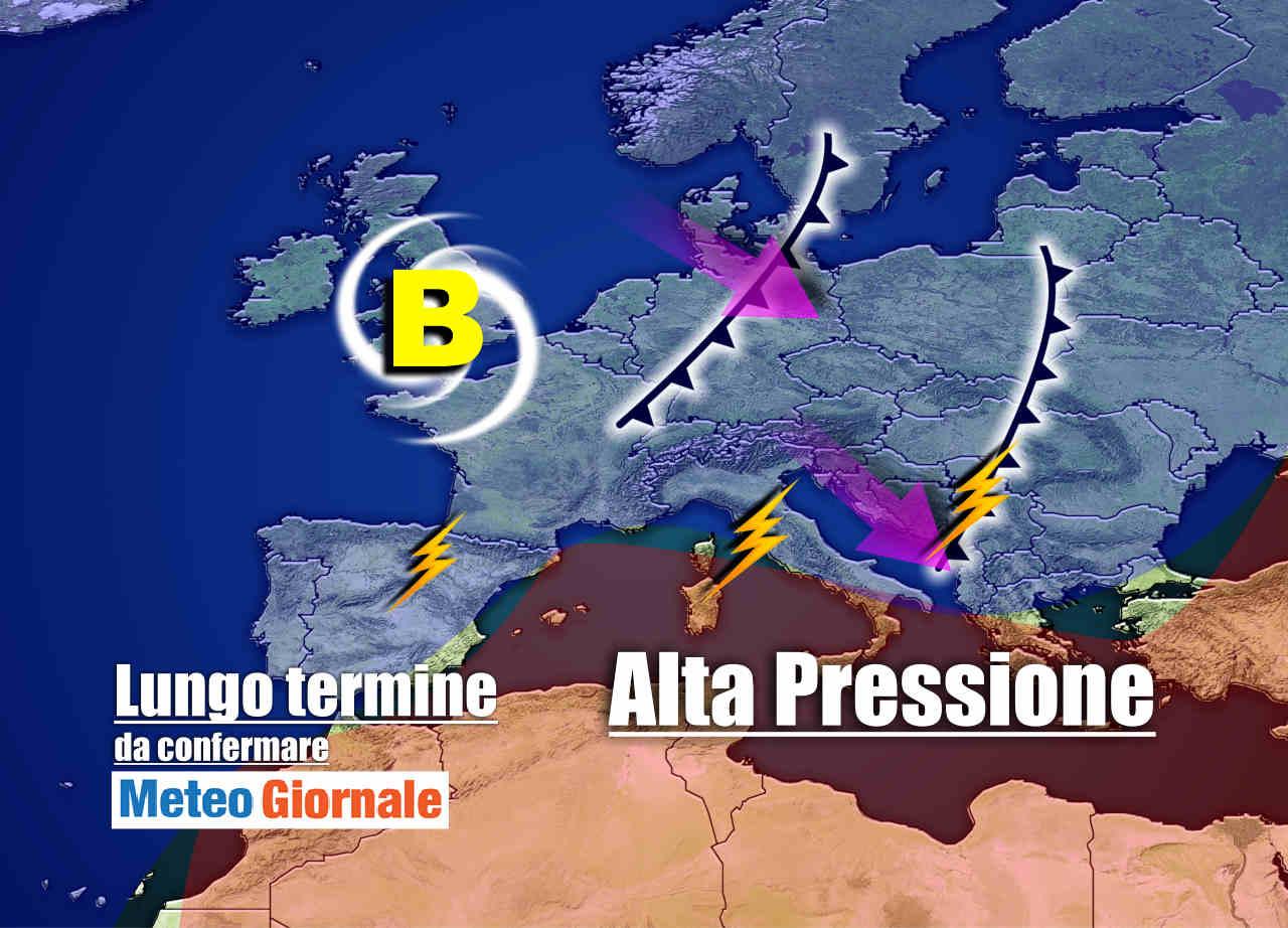 meteo 18 agosto - Meteo Italia post Ferragosto: cambia tutto, vi spieghiamo perché