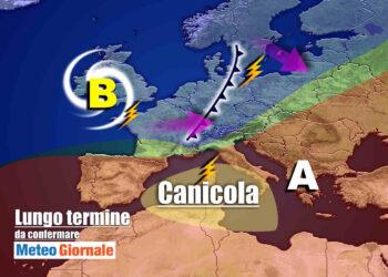 meteo 23 agosto 1 350x250 - Meteo validità due settimane: rischio brutto PEGGIORAMENTO, Stop estivo