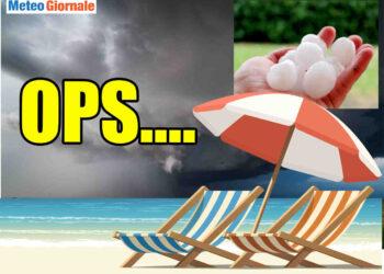 meteo che peggiora precocemente 350x250 - Peggiora con TEMPORALI e CROLLO termico: è peggio del previsto