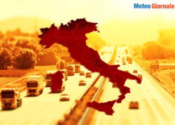 meteo con ondata di calore in italia 350x250 - Meteo: inizia l'anomala ondata di calore, e non finisce qui
