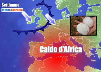 meteo della settimana 350x250 - Meteo grandine: proiettili di ghiaccio Europa orientale