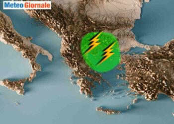 meteo grecia nubifragio a salonicco 350x250 - Meteo Grecia del nord, tempeste di pioggia e grandine