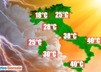 ondata di calore a 40 gradi e fresco 350x250 - Ecco i 40 GRADI, il caldo estremo che terrorizza