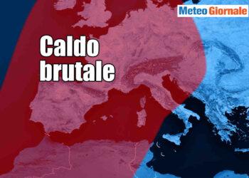 ondata di calore europa 350x250 - La BURRASCA perfetta nei primi di Luglio. Lo dice anche il Centro Meteo europeo