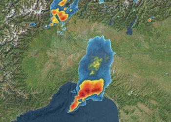 radar meteo 17 08 2020 1 liguria temporale 350x250 - Meteo Liguria, forti temporali costieri. Trombe marine
