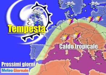 tempesta oceano atlantico 350x250 - Meteo con super Tempesta da record  verso l'Europa. In Italia ripercussioni