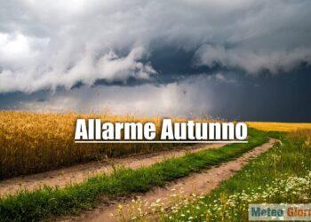 autunno 350x250 - Ecco la stagione dei nubifragi. Un reale pericolo meteo