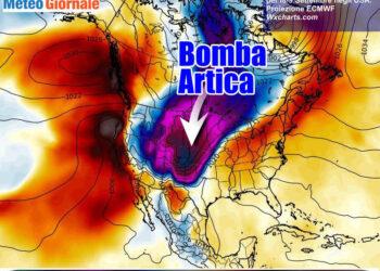 bomba 350x250 - METEO estremo negli USA, dal CALDO alle tempeste di NEVE