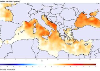 caldo medit 350x250 - Meteo. Improvviso sviluppo di un TLC sul Mediterraneo, dettaglio previsioni