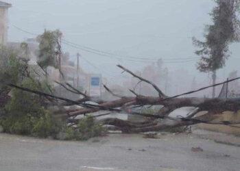 cefalonia 350x250 - Meteo, URAGANO MEDITERRANEO in azione. Grecia flagellata da tempesta, VIDEO