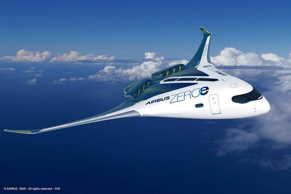 mag1 70 - ZEROe: Airbus presenta l'aereo del futuro a zero emissioni