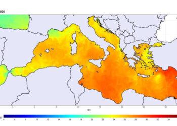 mare 350x250 - METEO ESPLOSIVO, rischi di un mare molto caldo come il Mediterraneo