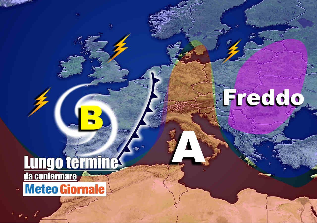 meteo 20 settembre - Meteo Italia valido 15 giorni: FREDDO da Est, SCONQUASSO da Ovest