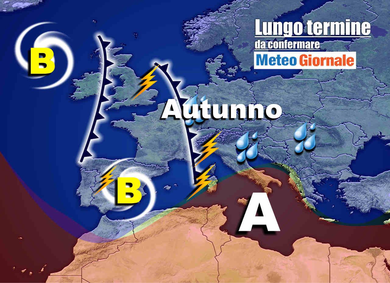 meteo 27 settembre - Meteo Italia valido 15 giorni: totale STRAVOLGIMENTO dal 25