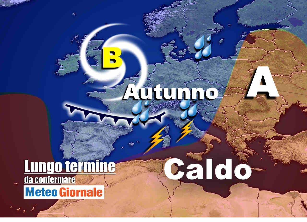 meteo 9 ottobre - Meteo Italia, nuovi schiaffi perturbati alle porte: super Autunno