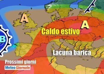 meteogiornale 7 g 13 350x250 - METEO sino al 20 settembre. SUPER ANTICICLONE, ma anche qualche temporale