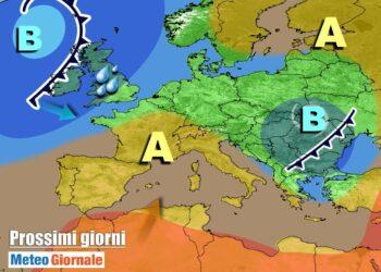 meteogiornale 7 g 27 350x250 - CAMBIA TUTTO: meteo estremo verso il FREDDO invernale