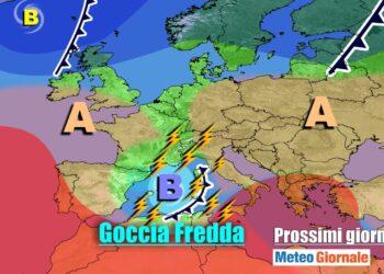 meteogiornale 7 g 8 350x250 - METEO Weekend dal SOLE e CALDO anteprima di BURRASCA e TEMPORALI