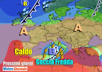 meteogiornale 7 g 9 350x250 - METEO 7 Giorni: insidioso vortice mediterraneo, TEMPORALI su parte d'Italia