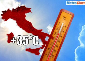 ottobre caldo sino 35 gradi