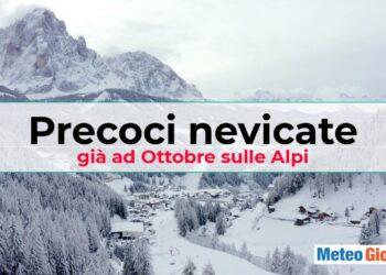precoci nevicate su alpi ad ottobre 350x250 - Meteo d'OTTOBRE: nevicate precoci su ALPI. Video