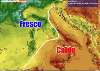 sbalzo 350x250 - Torna il caldo d'ottobre. Temperature anche sopra i 30 gradi, vediamo dove