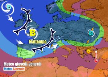 tregua 350x250 - CAMBIA TUTTO: meteo estremo verso il FREDDO invernale