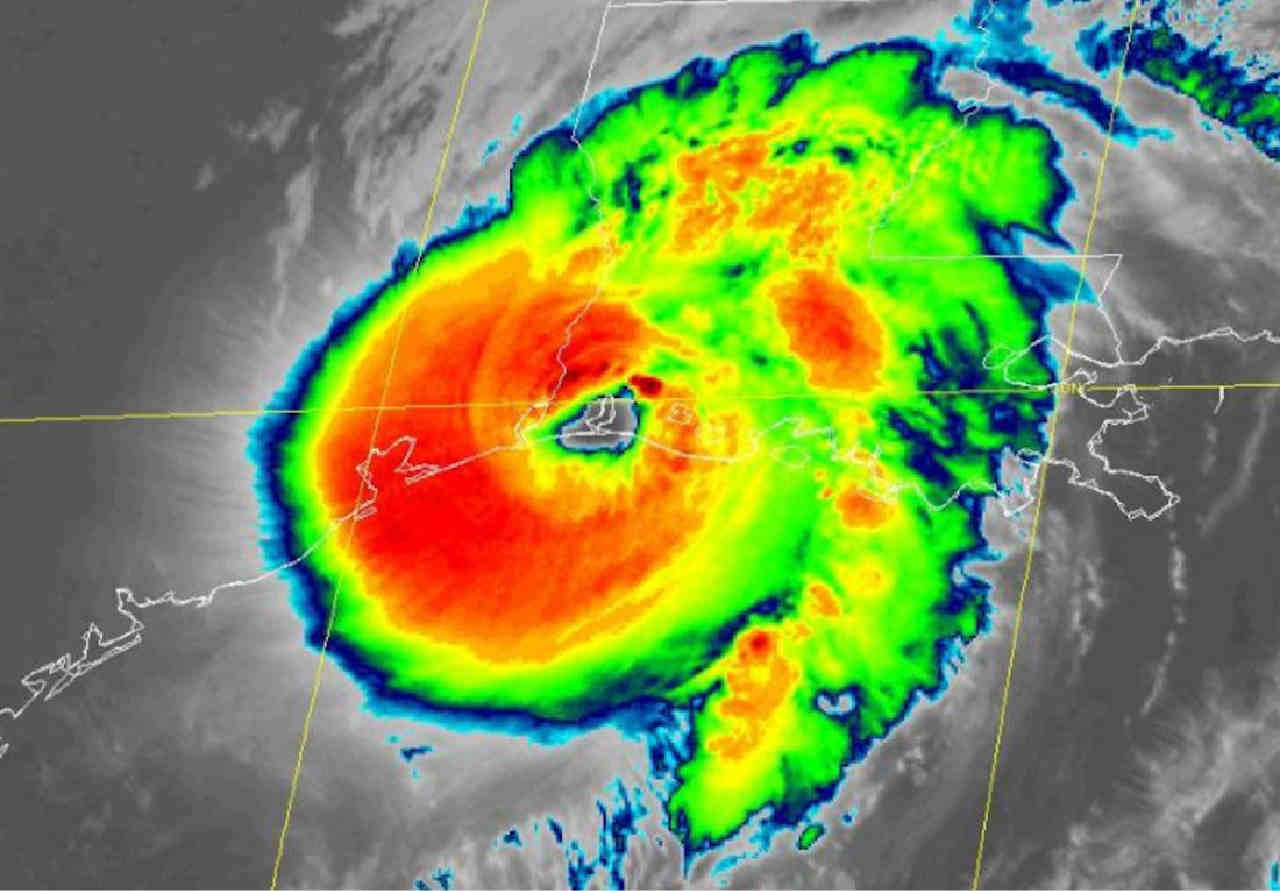 uragano laura - Laura, ecco uno storico uragano nello Stato della Louisiana