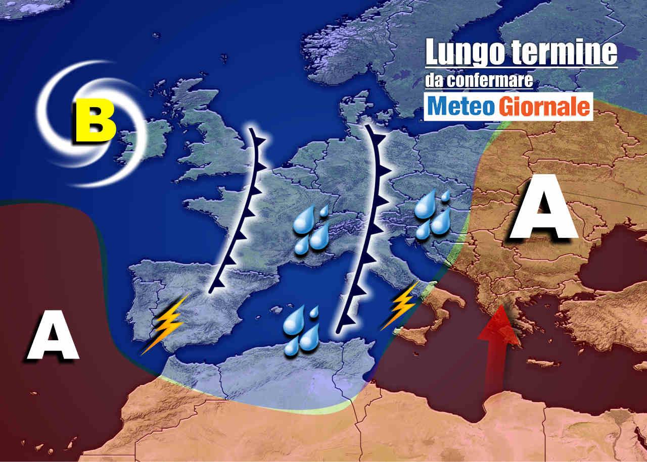 meteo 18 ottobre - Meteo Italia nel lungo termine: conferme sul FREDDO e sul MALTEMPO