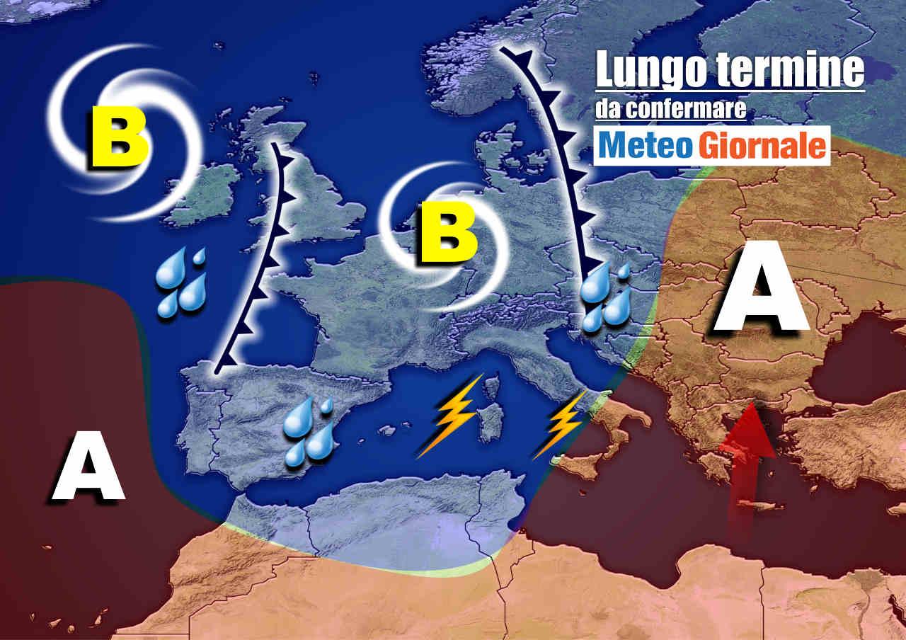meteo 19 ottobre - Meteo Italia nel lungo termine: ESTREMO, tra maltempo e rischio OTTOBRATA