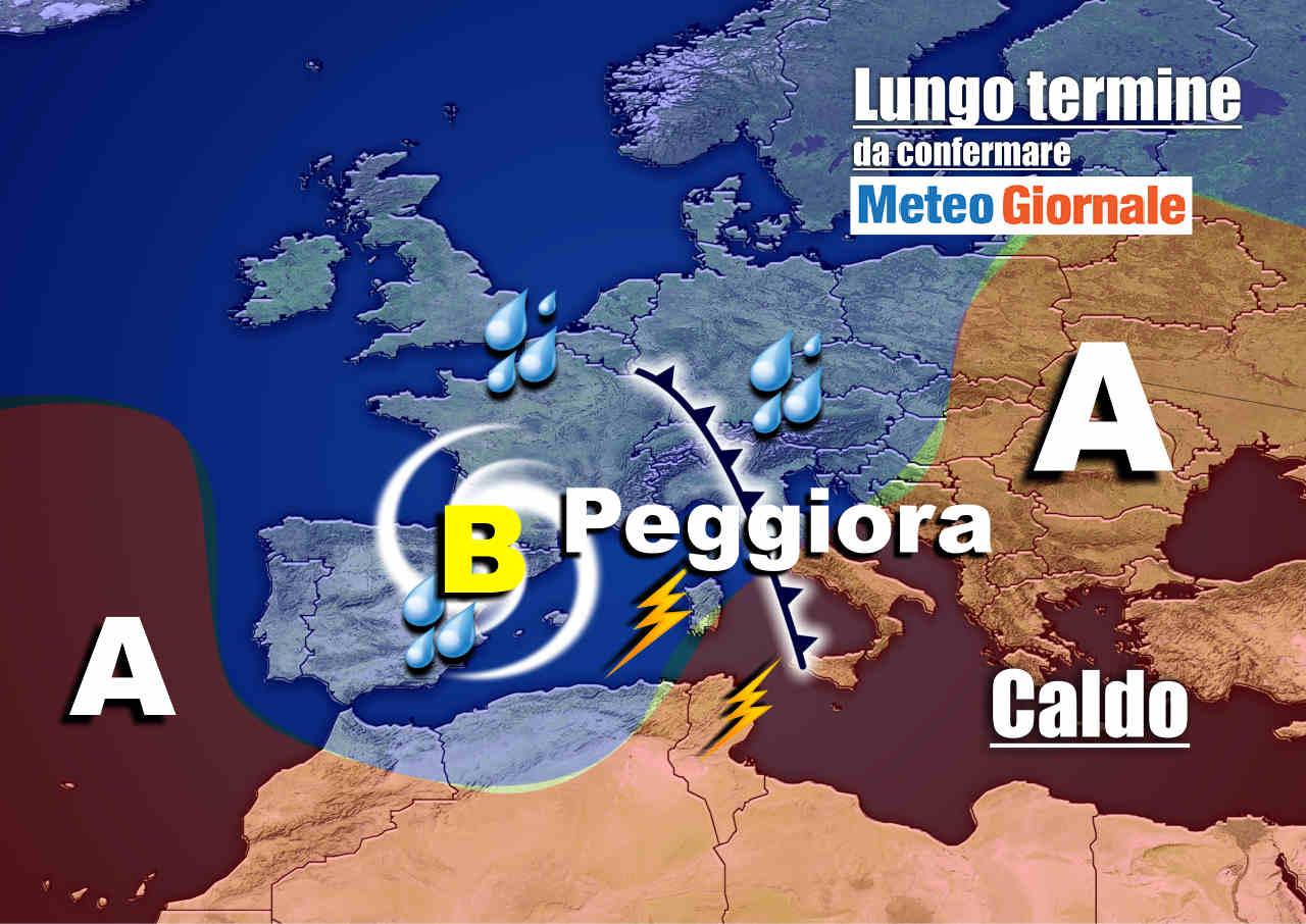 meteo 23 ottobre - Meteo Italia nel lungo termine: sarà estremo, dal CALDO ai NUBIFRAGI