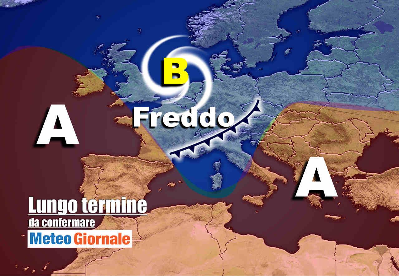 meteo 5 novembre - Meteo Italia nel lungo termine: Estate di San Martino, poi botti di novembre