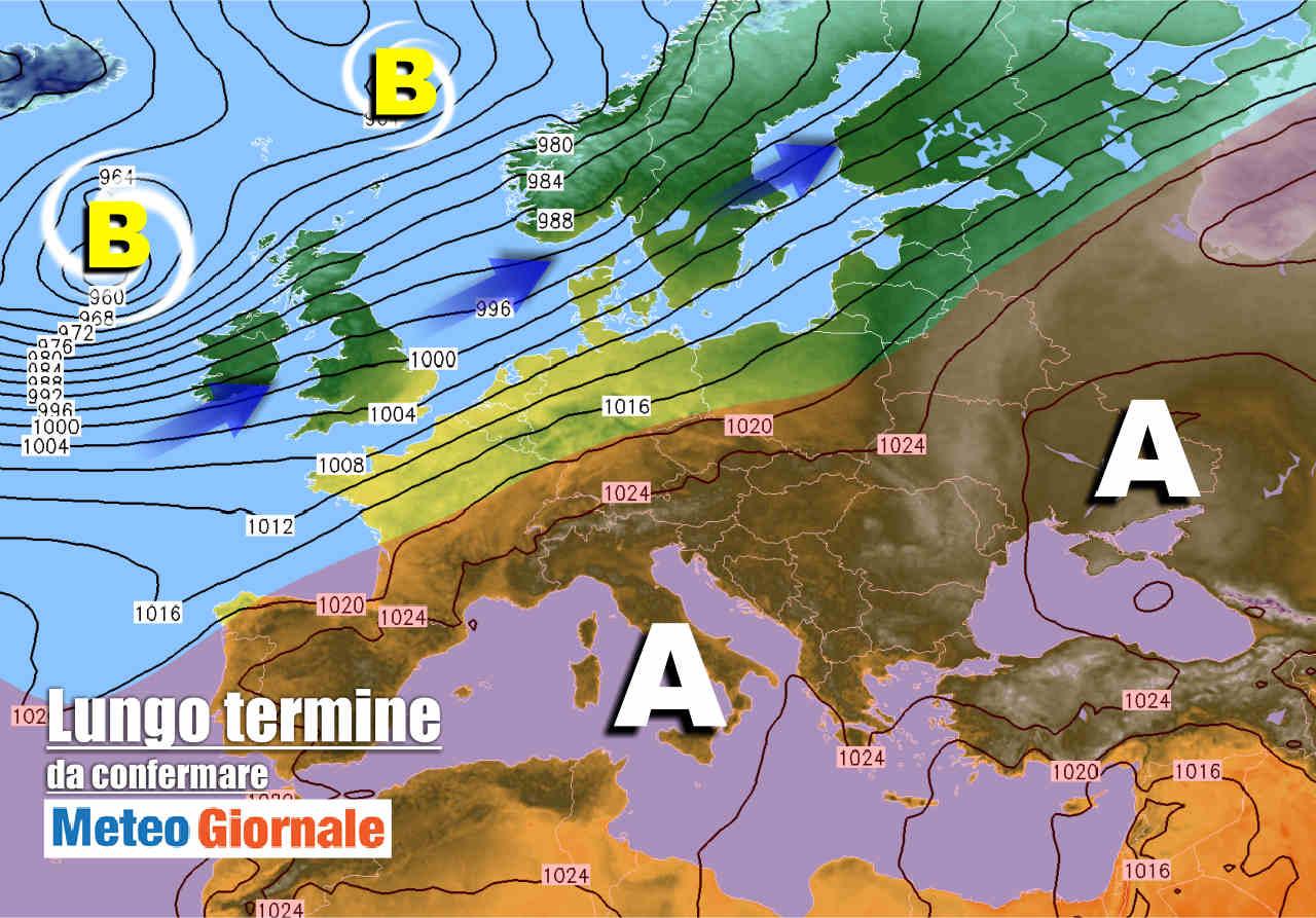 meteo 7 novembre 1 - Meteo Italia sul lungo termine: dal clima mite all'ondata di FREDDO