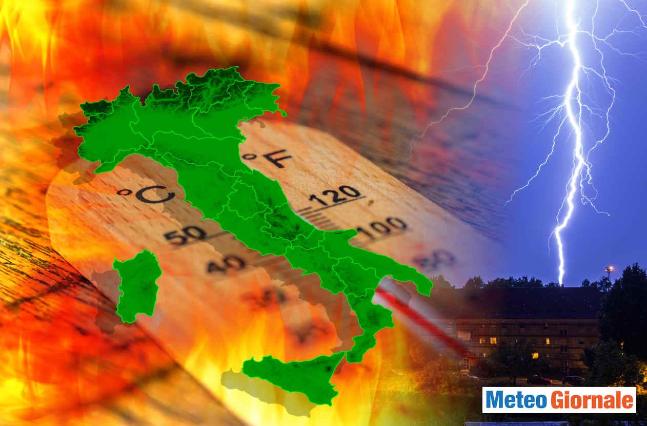 meteo caldo ottobre - Il meteo CALDO ANOMALO d'Ottobre è ormai una costante