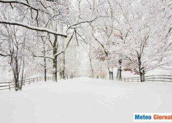 In settimana altre nevicate sui rilievi