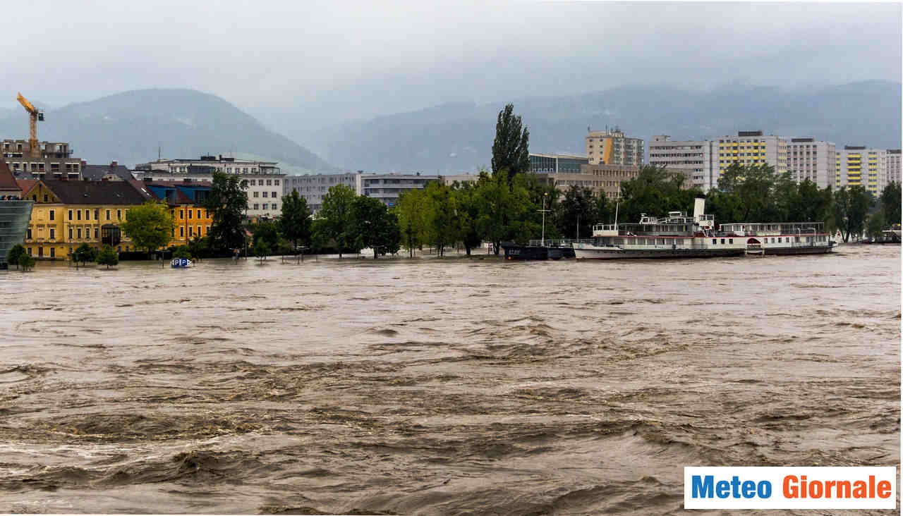 meteo giornale 00126 - Aumento delle ALLUVIONI in Italia, la stagione più lunga, rischi maggiori