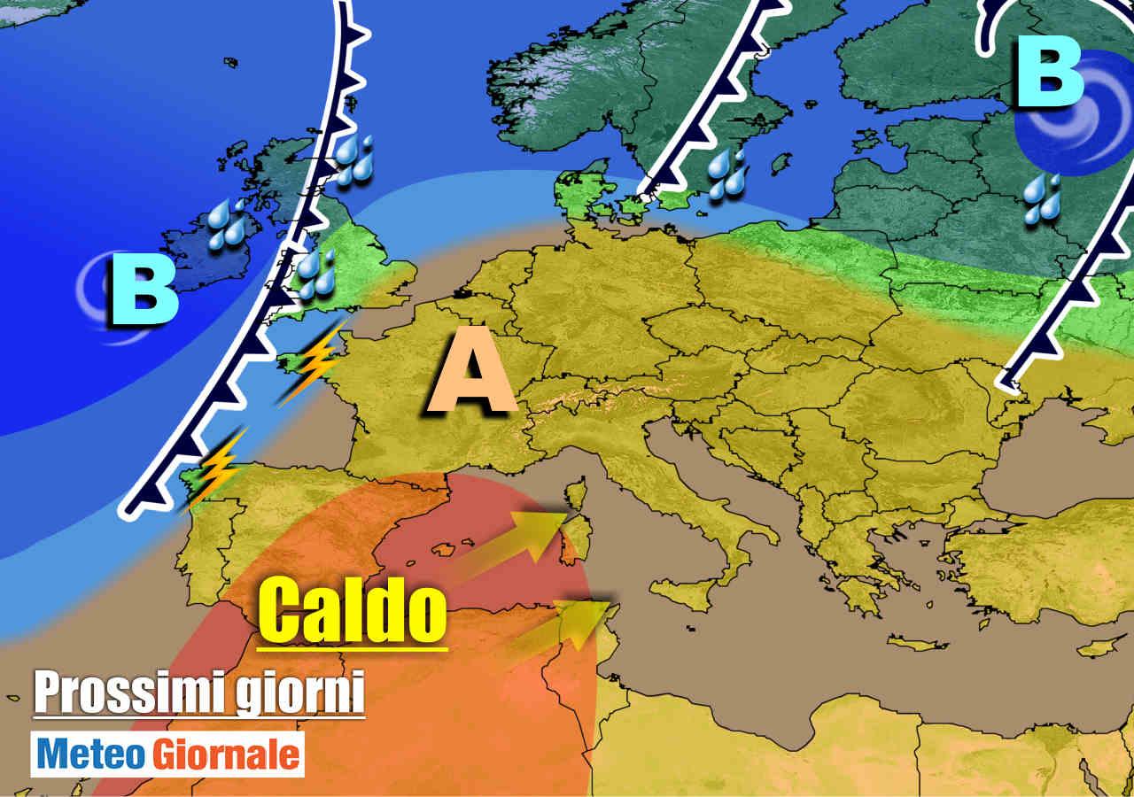 meteogiornale 7 g 19 - METEO Italia. Settimana da OTTOBRATA al Centro-Sud, qualche pioggia al Nord