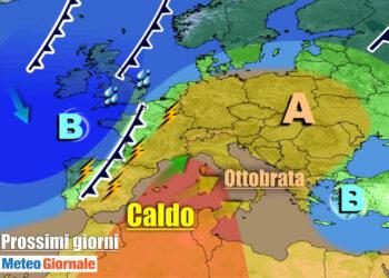 L'anticiclone africano abbraccerà l'Italia nei prossimi giorni