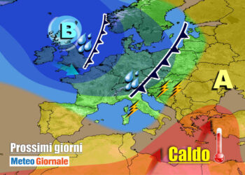 meteogiornale 7 g 4 350x250 - CAMBIA TUTTO: meteo estremo verso il FREDDO invernale